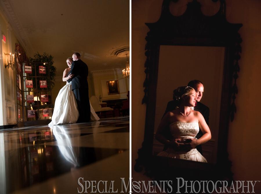 Dearborn Inn MI wedding reception