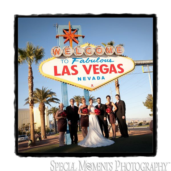 Edward & Katie's Vintage Gallery Album from their St. Thomas More Henderson NV Wedding & Canyon Gate Las Vegas Reception