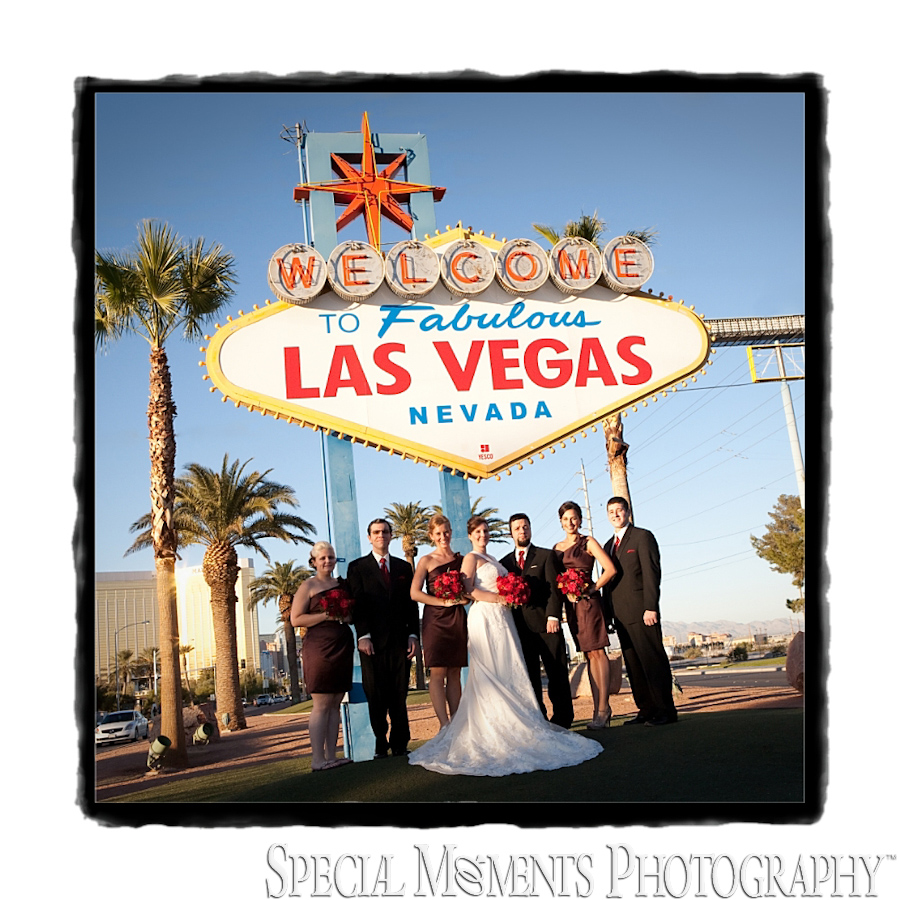 Downtown Las Vegas NV wedding photos