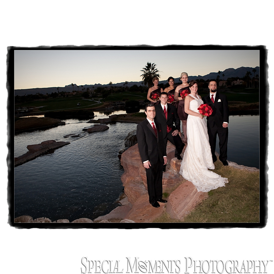 Fine Art Design Page - Canyon Gate Country Club Las Vegas NV wedding reception