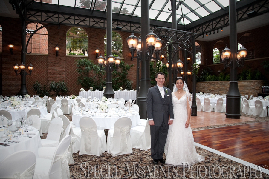Inn at St. John's Atrium Ballroom Plymouth MI wedding