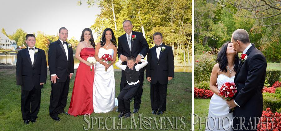 Mill Race Village Northville MI wedding