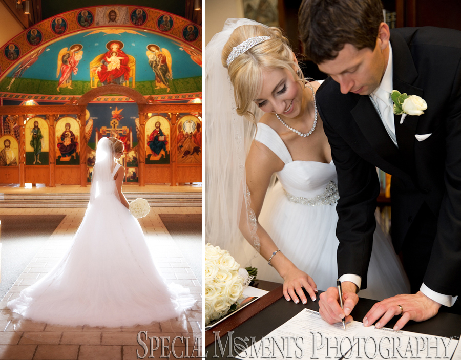 Holy Transfiguration Orthodox Church Livonia MI wedding