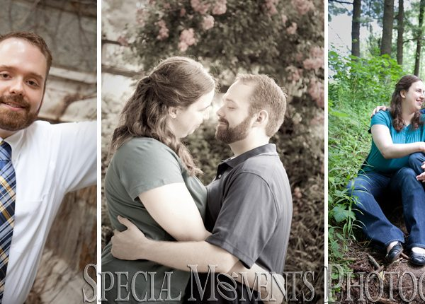 Catherine & Brian's Ann Arbor Engagement Photography