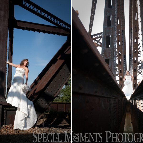 Nicole & Duston's Trash The Dress Photos in Detroit MI