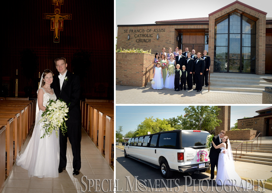 St. Francis of Assisi - Ann Arbor MI wedding
