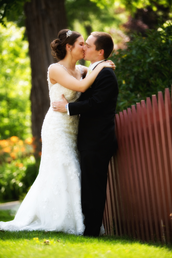 Our Lady of the Lakes Waterford MI wedding photograph