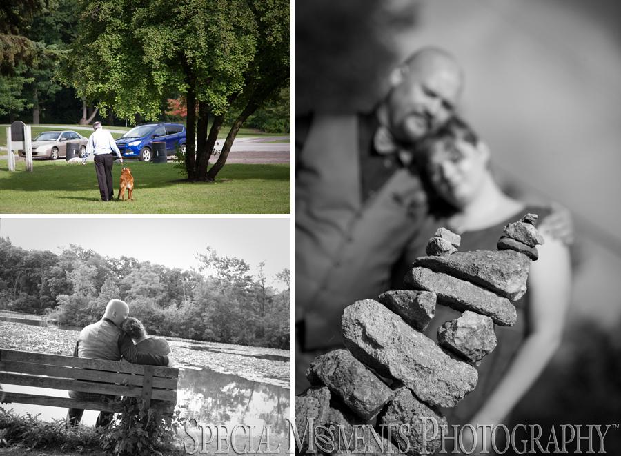 Wilcox Lake engagement photograph