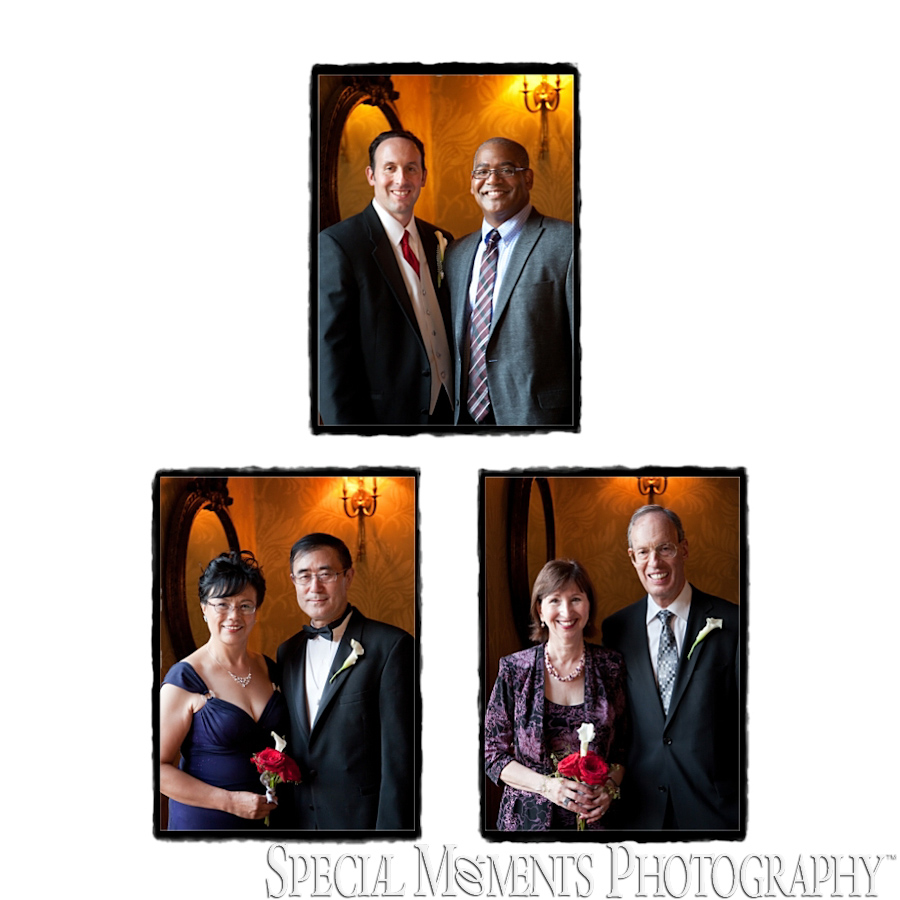 The Gem Theatre Detroit MI reception wedding photograph