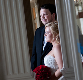 Chris & Ashli's Wedding At Lovett Hall Dearborn:  Coffee Table Wedding Album Design