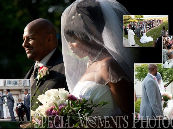 Glenn & Shakyra's Wedding Album Design: Grosse Pointe War Memorial Wedding Photos | Special Moments Photography