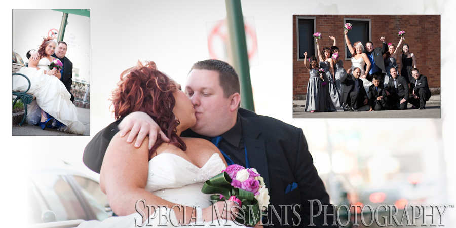 Downtown Rochester MI wedding photograph