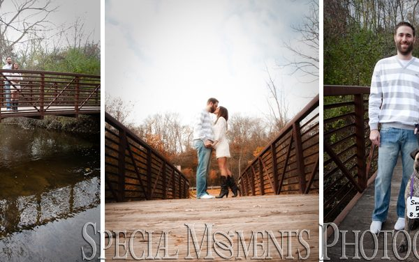 Marilyn & Stephen's Engagement Photos from Cass Benton Park Hines Drive Northville MI This Fall.