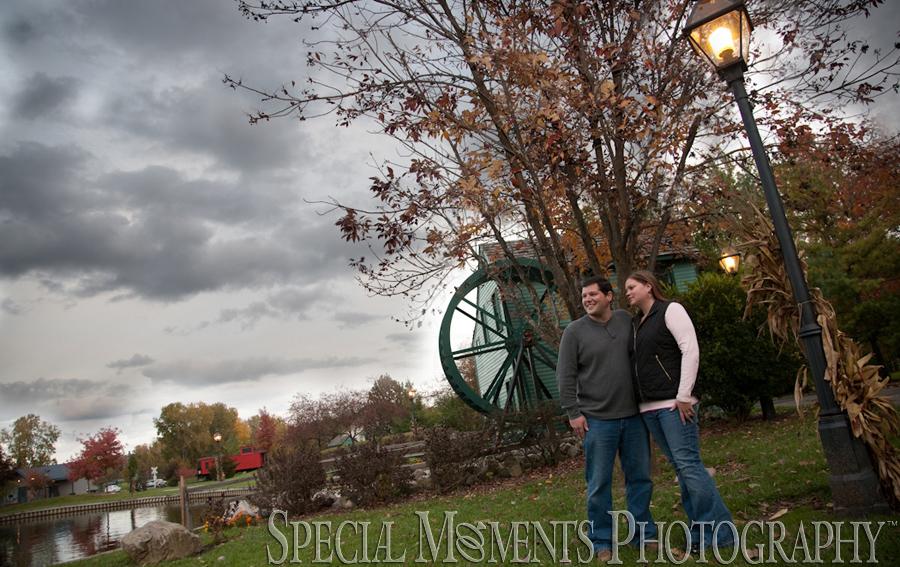 Heritage Park Taylor MI engagement photograph