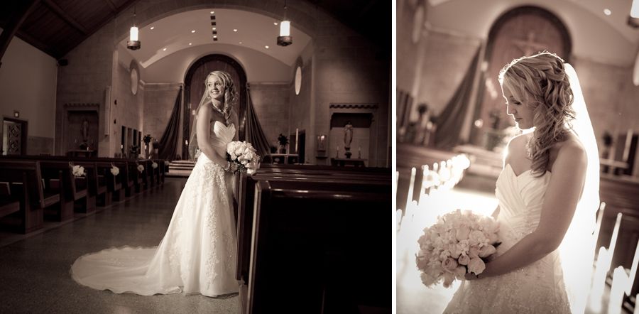 St. John Catholic Fenton MI wedding photograph