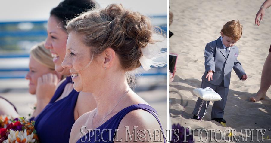 Tiscornia Park & Pier St. Joseph MI wedding photograph