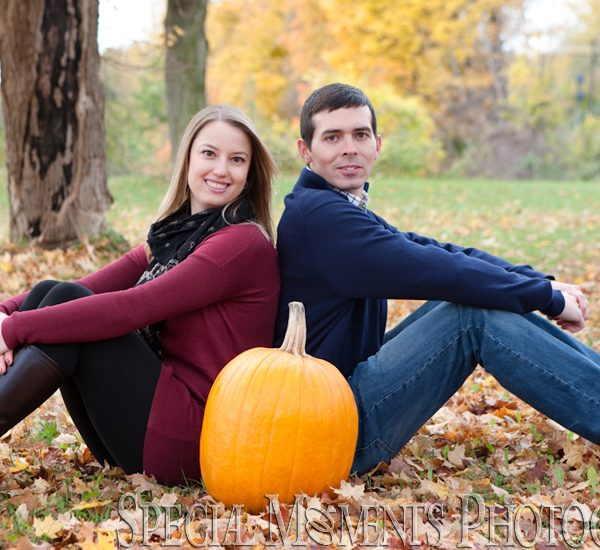 Katelyn & Matthew: Wilcox Lake Park Engagement Photos Plymouth MI
