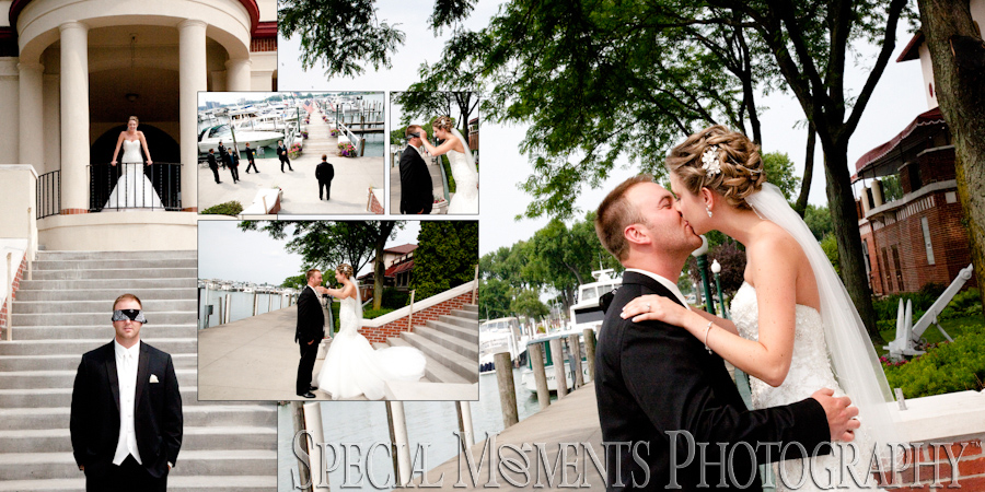 Detroit Yacht Club Detroit MI wedding photographs