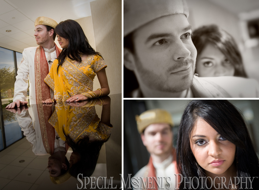 Westin Hotel, Prudential Center Southfield MI wedding photograph