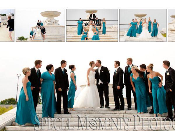 Nicholas & Christina's Wedding Album Design: Detroit Yacht Club Wedding Photography From Their Wedding & Reception