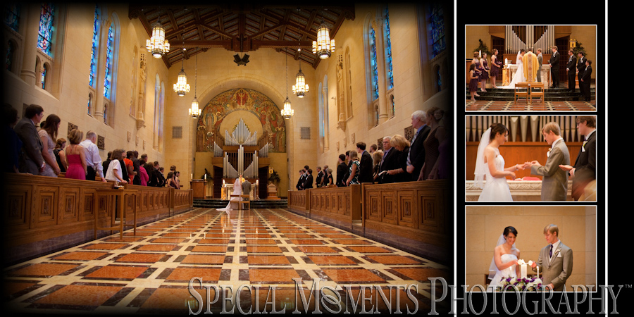 St. John Chapel Plymouth MI wedding photograph