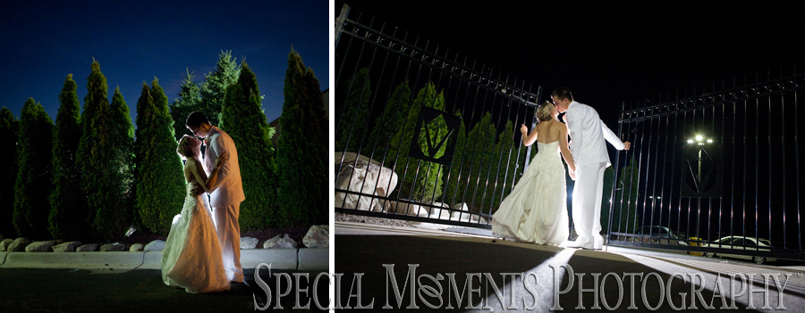 Crystal Gardens Howell MI wedding photograph