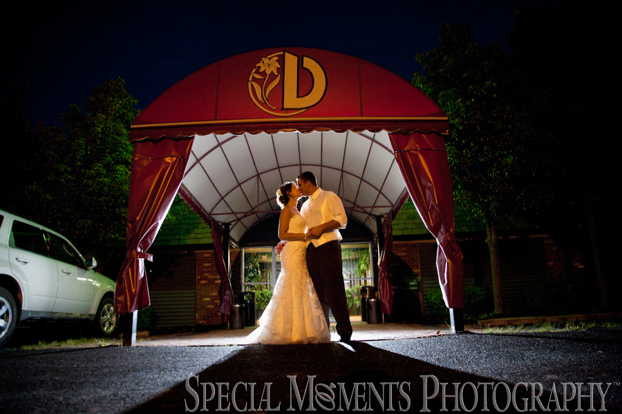 Dusseau Reception Center Temperance MI wedding photograph