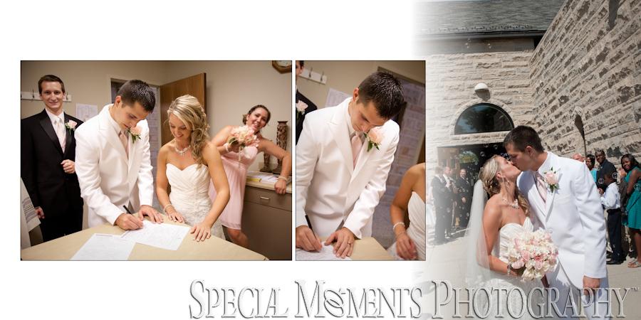 St. John Catholic Fenton MI wedding photograph