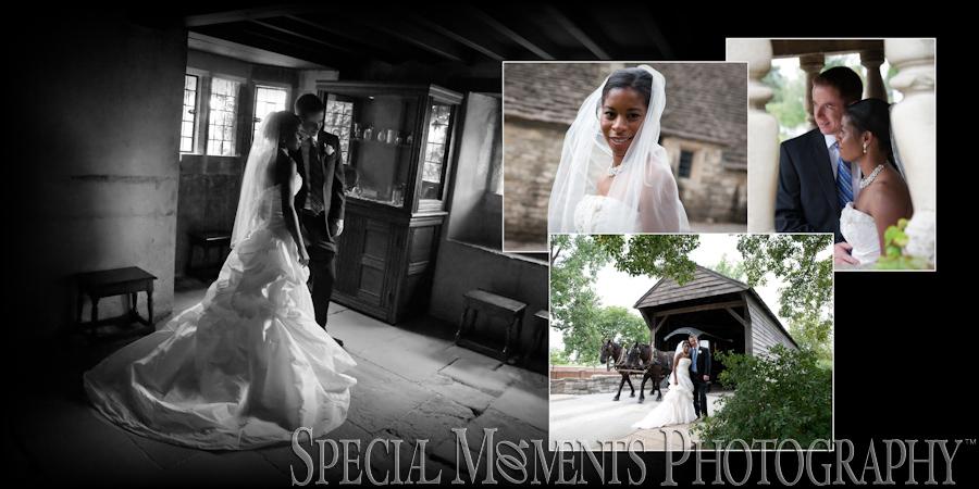 Danese & Josh's Greenfield Village Dearborn MI wedding photograph