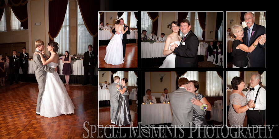 Inn at St. John's Galilee Ballroom Plymouth MI wedding photograph