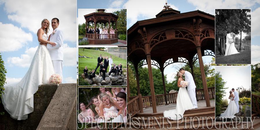 Bush Park Fenton MI wedding photograph