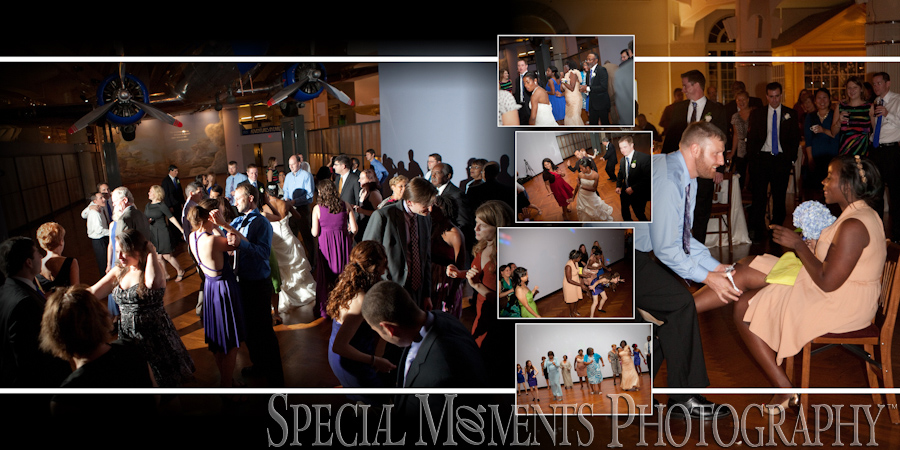 Danese & Josh's Henry Ford Museum Dearborn MI wedding photographs