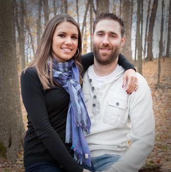 Cass Benton Park Hines Dr. Northville MI engagement photograph