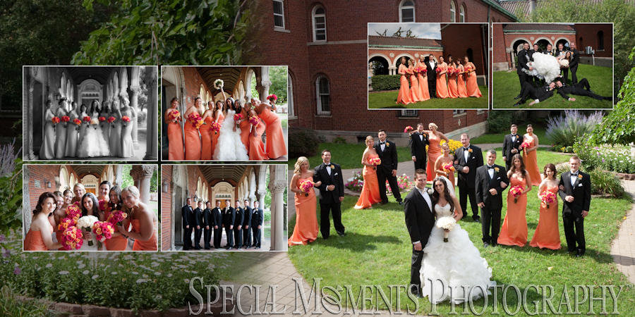 Holy Redeemer Detroit MI wedding photograph