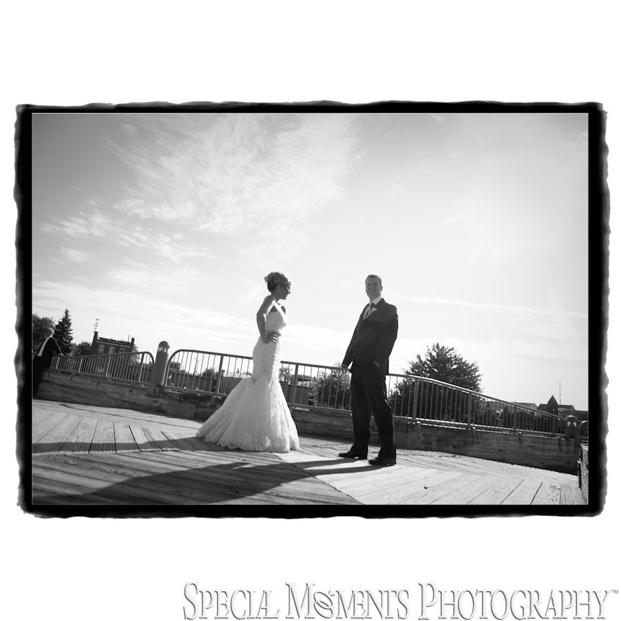 Morgan & Patrick Downtown Brighton MI wedding photograph