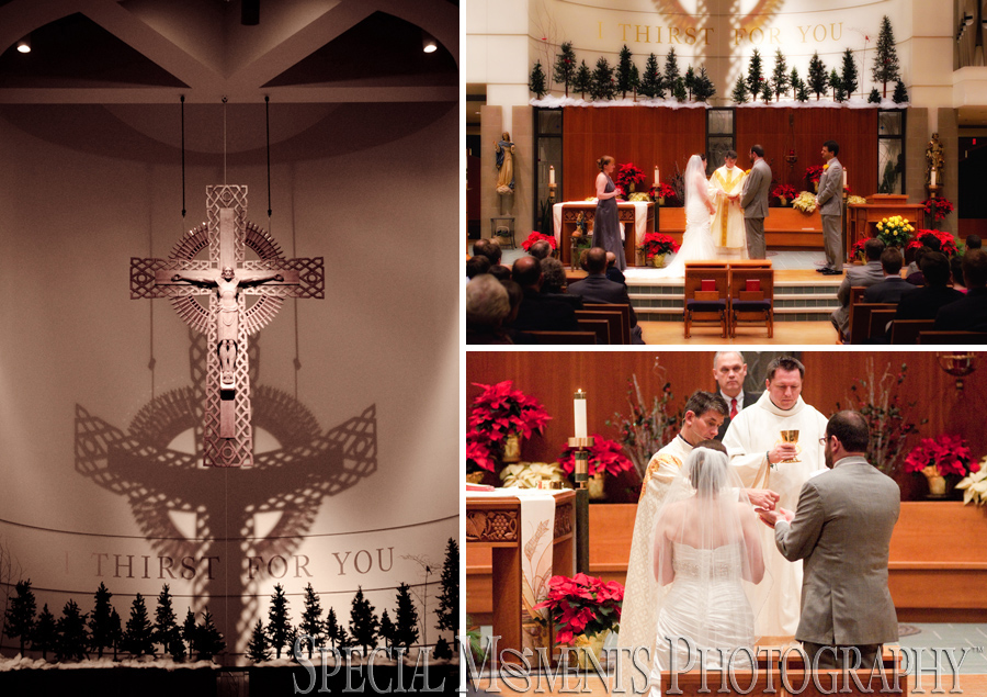 Our Lady of Good Counsel Plymouth  MI wedding photograph