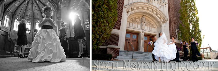 St. Ambrose Catholic Grosse Pointe Park MI wedding photograph