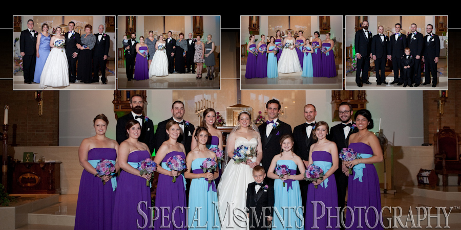 St. Albert the Great Dearborn Heights MI Wedding Photos
