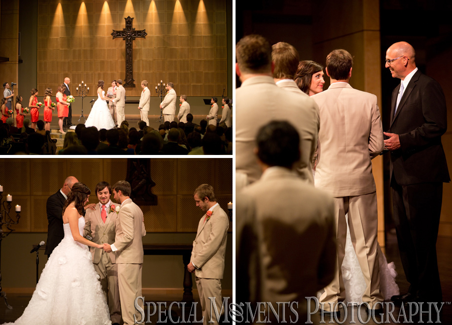 Kensington Community Church Troy MI wedding photograph