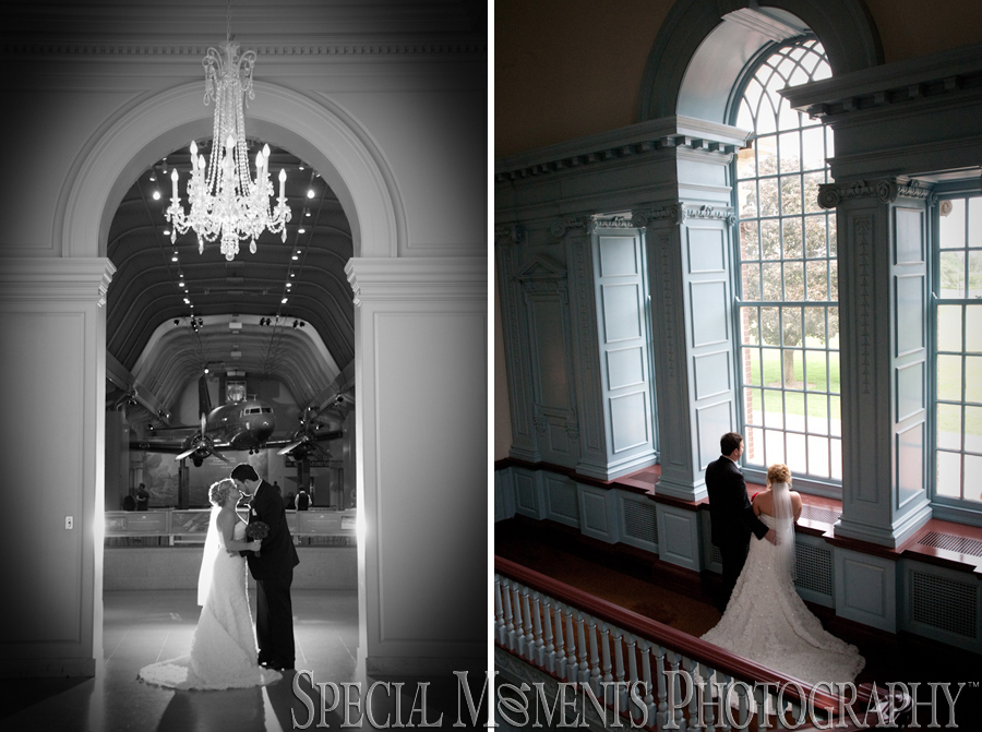 Greenfield Village Henry Ford Museum Dearborn MI wedding photograph