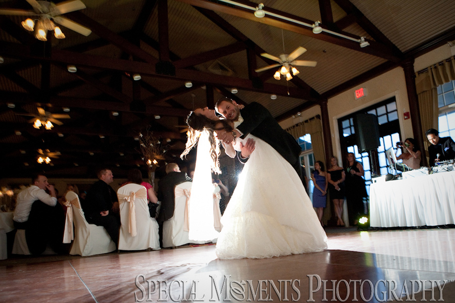 Northville Hills Golf Club Northville MI wedding reception photograph
