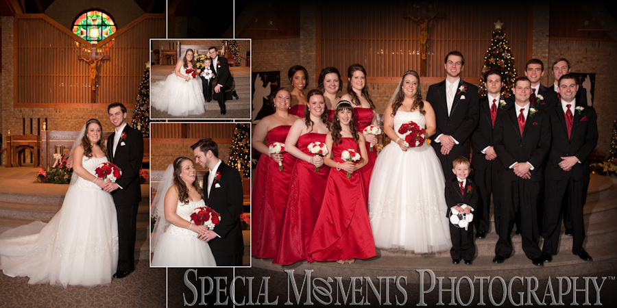 St. Thomas A-Becket Canton MI wedding photograph