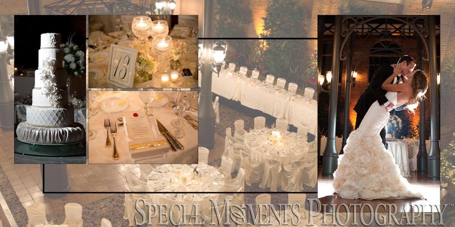 Inn at St. John's Atrium Ballroom Plymouth MI wedding photograph