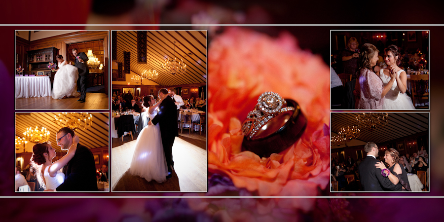 Coffee Table Design - Kings Court Castle Lake Orion MI wedding photograph