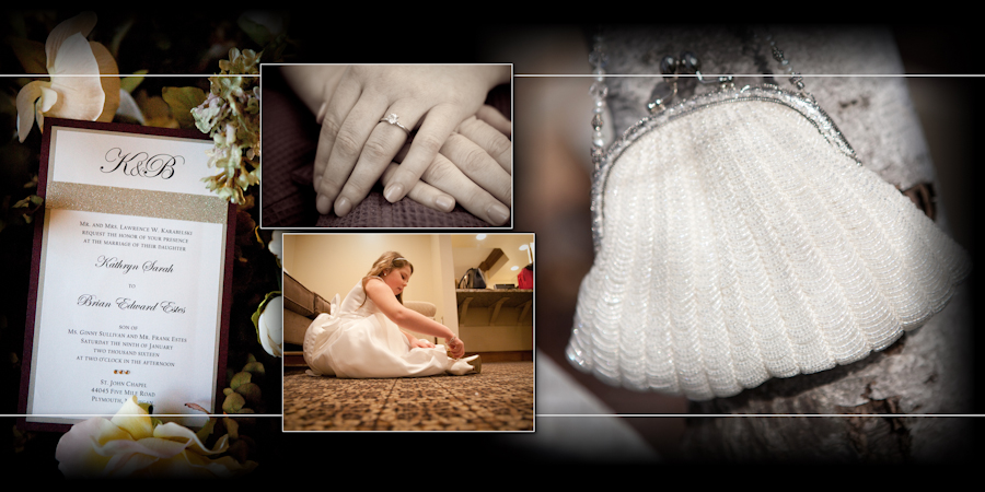 Coffee Table Design - Inn At St. John Chapel Plymouth MI wedding photograph