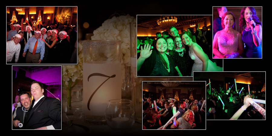 Coffee Table Design - Detroit Athletic Club Detroit MI wedding photograph