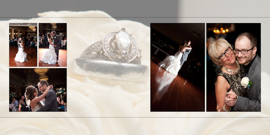 Coffee Table Design - Grecian Center Southgate MI wedding photograph