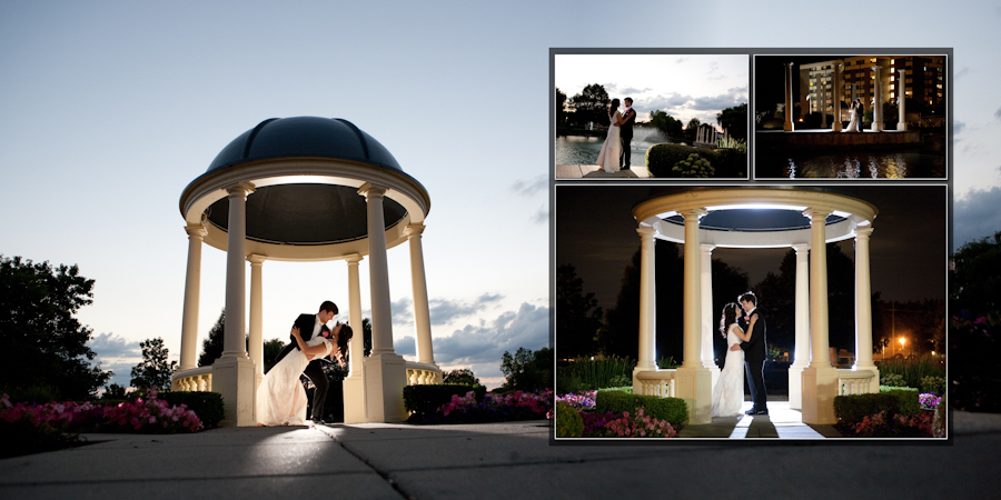 Coffee Table Design - Blossom Heath Inn St. Clair Shores MI wedding photograph