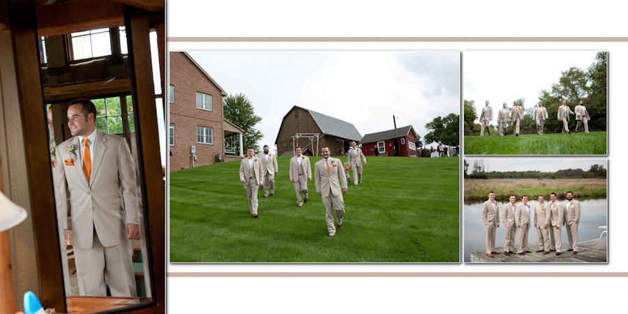 Fine Art Classic Design - Misty Farm Events Ann Arbor MI wedding photograph