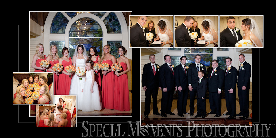 Kings Court Castle Lake Orion MI wedding Album Design